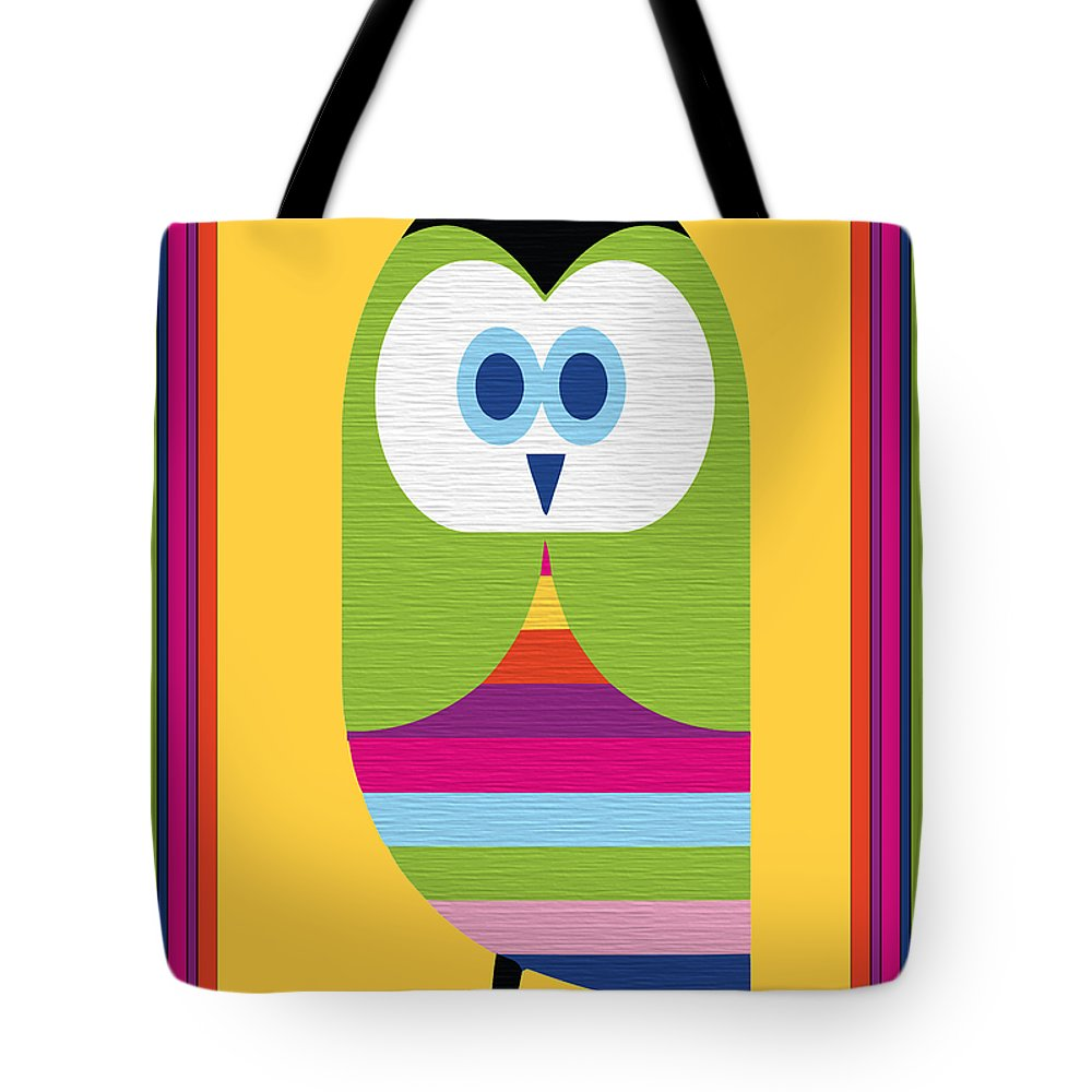Animal Tote Bag featuring the digital art Animal Series 5 by Angelina Vick