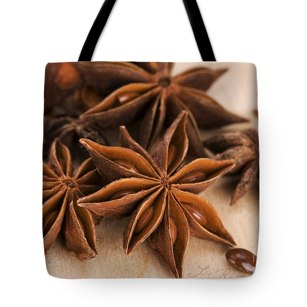 Iris Holzer Richardson Tote Bag featuring the photograph Anis Stars by Iris Richardson