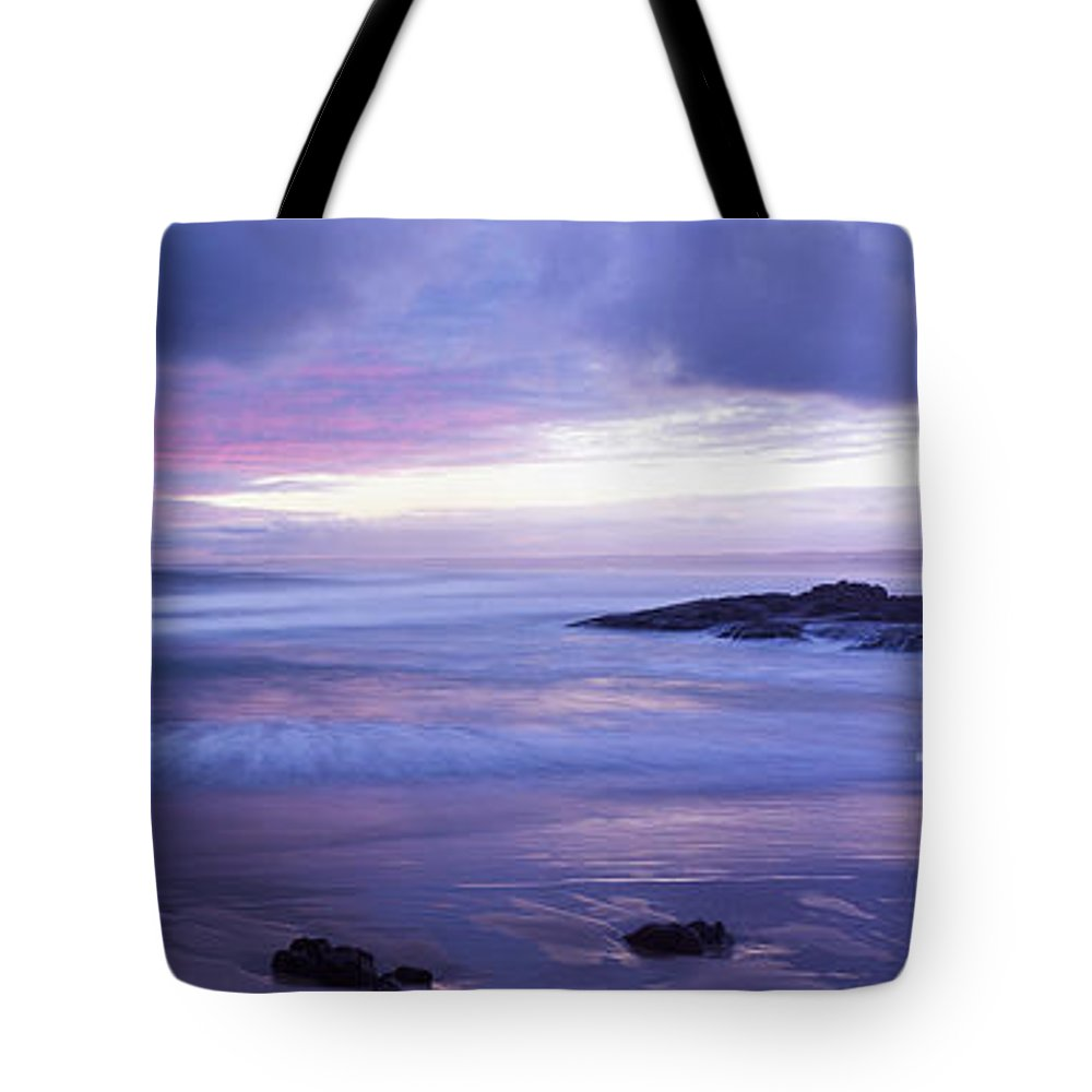 Australia Tote Bag featuring the photograph Anna Bay Sunset by Paul and Helen Woodford