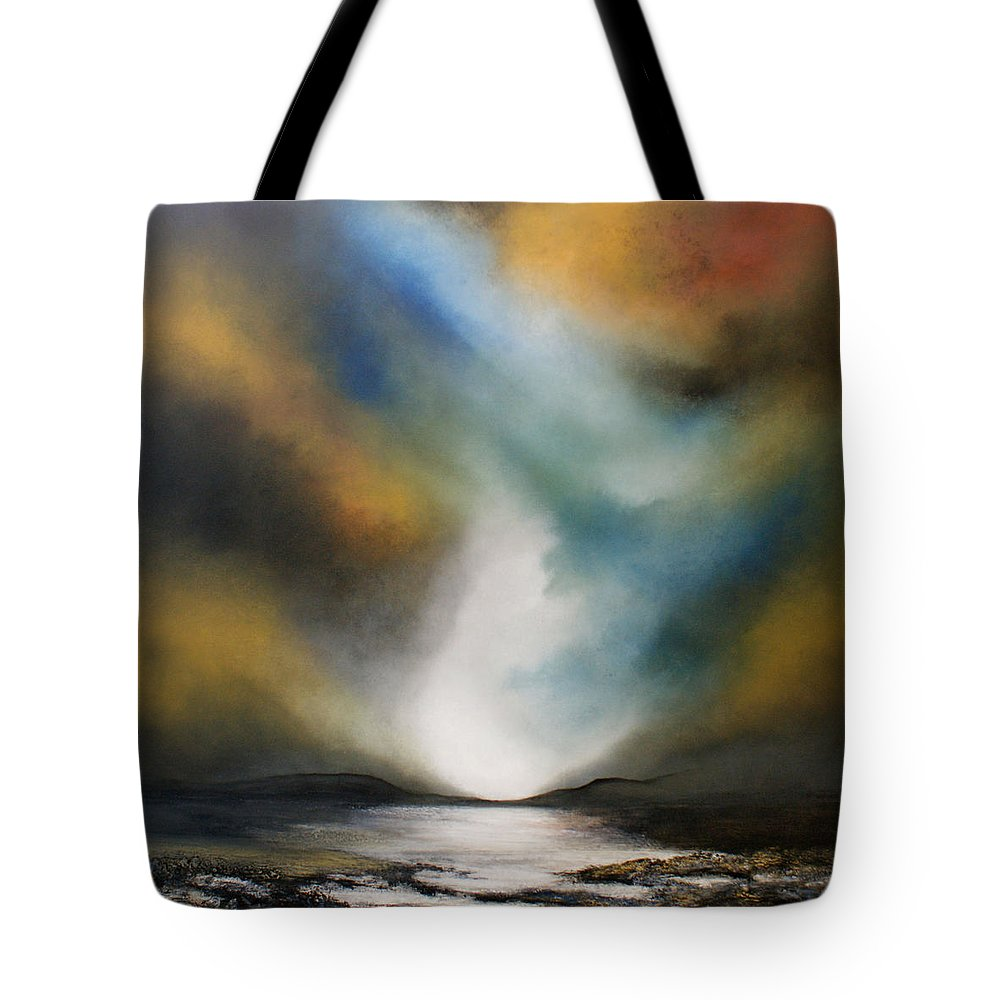 Sea Tote Bag featuring the painting Another Journey by Isabelle Amante