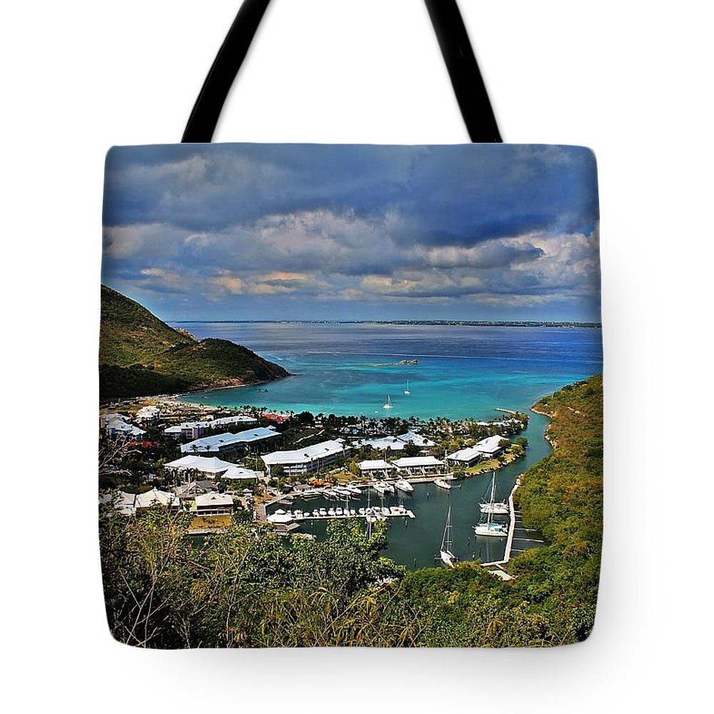 Anse Marcel Tote Bag featuring the photograph Anse Marcel by James Markey