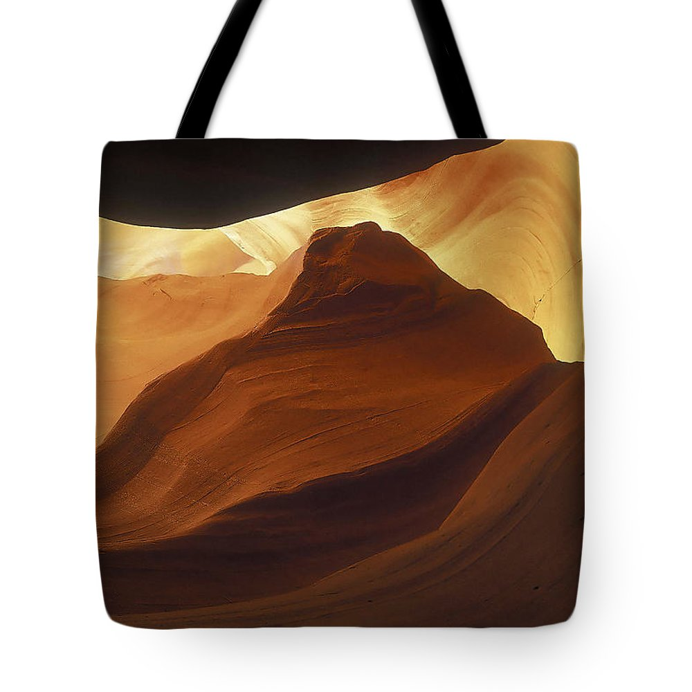 Antelope Tote Bag featuring the photograph Antelope Canyon 42 by Ingrid Smith-Johnsen