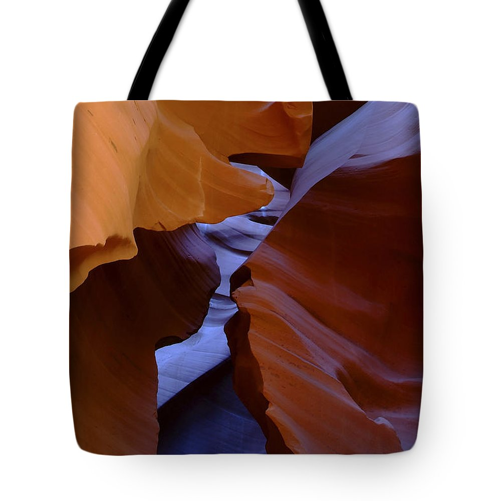 Antelope Tote Bag featuring the photograph Antelope Canyon 40 by Ingrid Smith-Johnsen