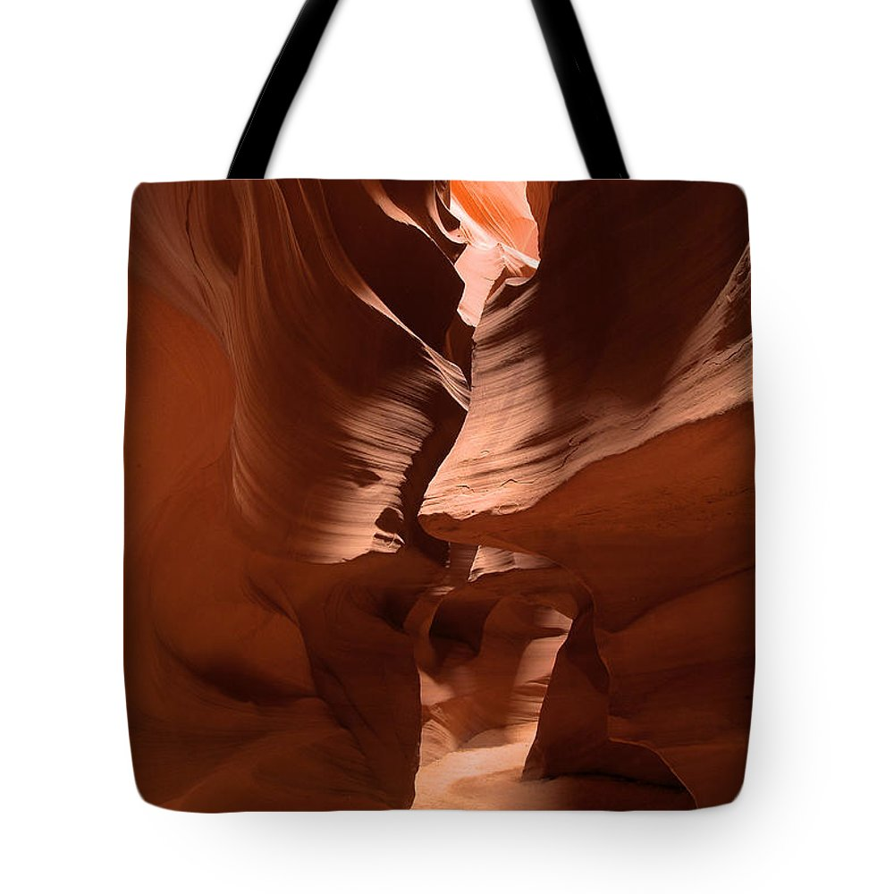 Antelope Canyon Tote Bag featuring the photograph Antelope Canyon 11 by Richard J Cassato