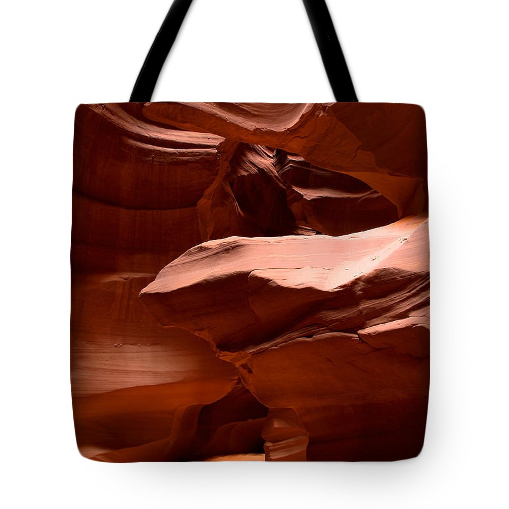 Antelope Canyon Tote Bag featuring the photograph Antelope Canyon 2 by Richard J Cassato