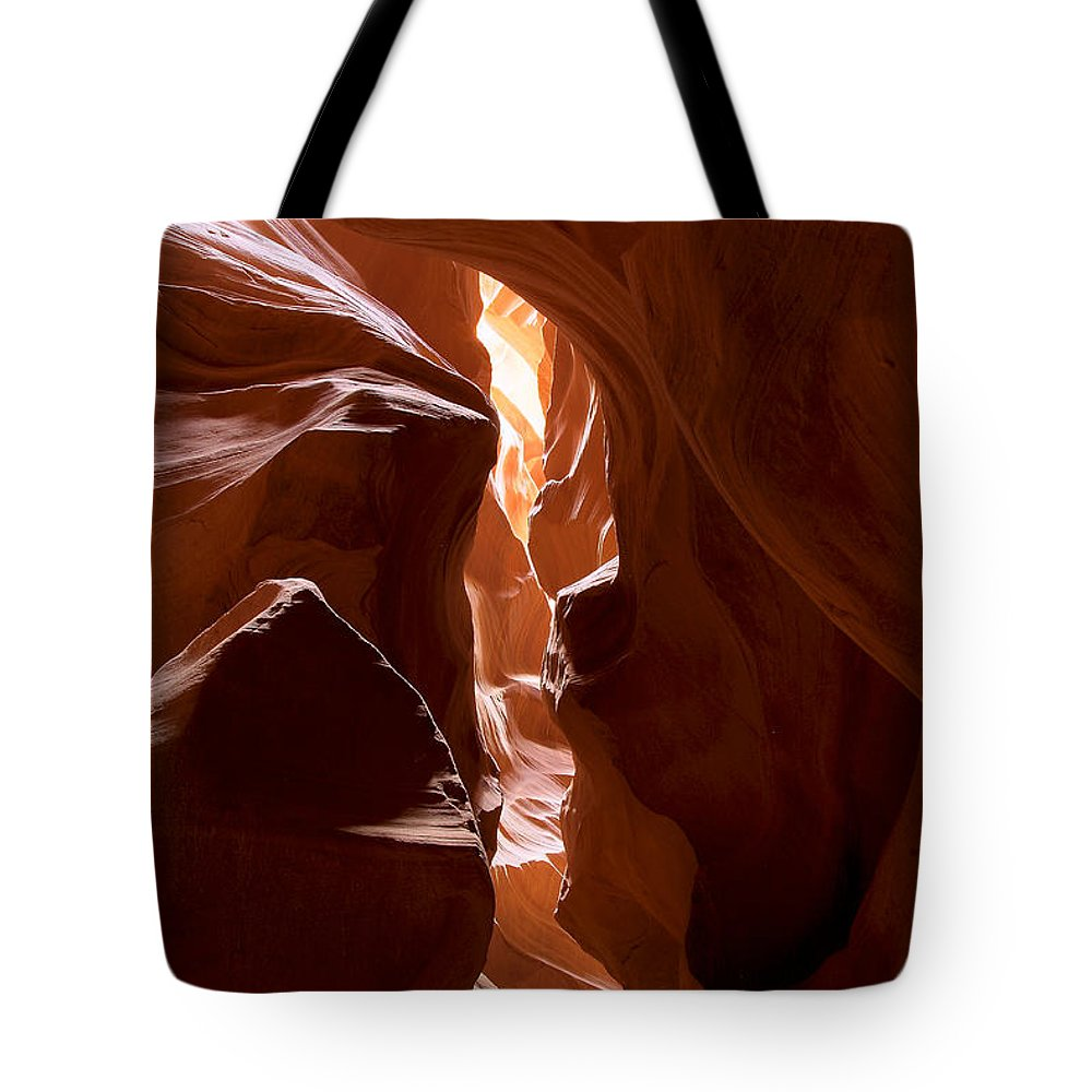 Antelope Canyon Tote Bag featuring the photograph Antelope Canyon 4 by Richard J Cassato