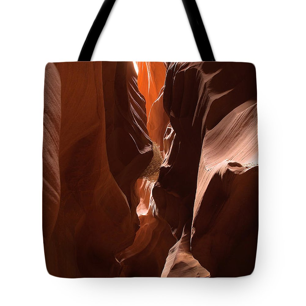 Antelope Canyon Tote Bag featuring the photograph Antelope Canyon 5 by Richard J Cassato