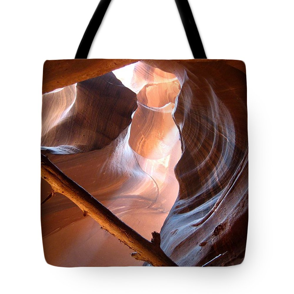Antelope Canyon Tote Bag featuring the photograph Antelope Canyon by Dany Lison