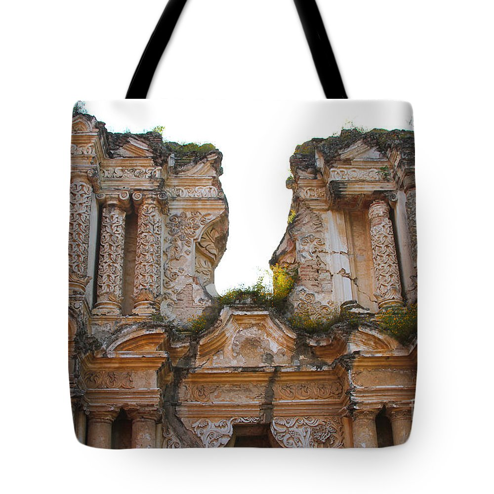 Antigua Tote Bag featuring the photograph Antigua Ruins by Carey Chen