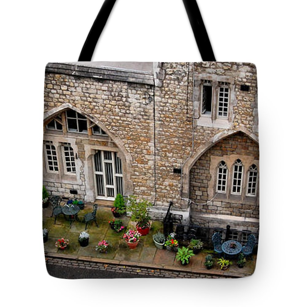Antique Tote Bag featuring the digital art Antique London by Gina Dsgn