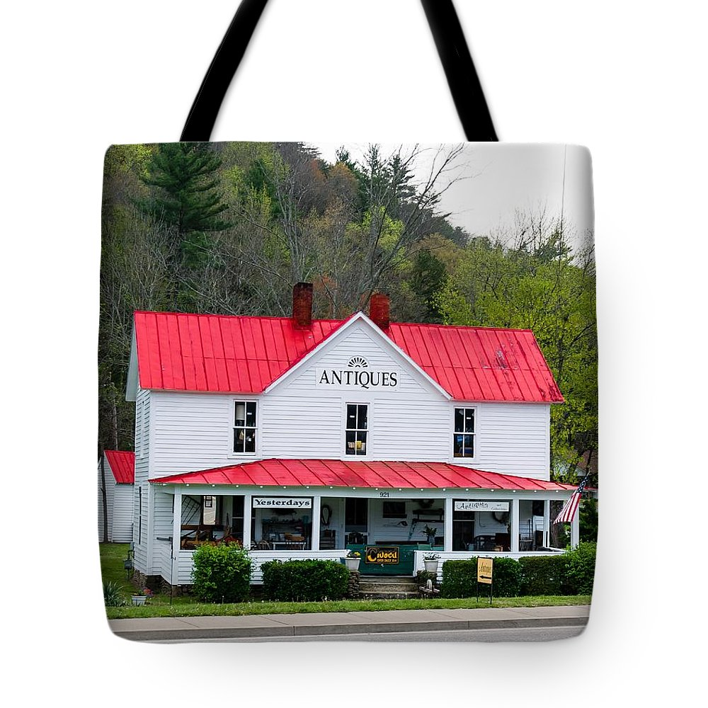 Antique Tote Bag featuring the photograph Antique Store by Robert L Jackson