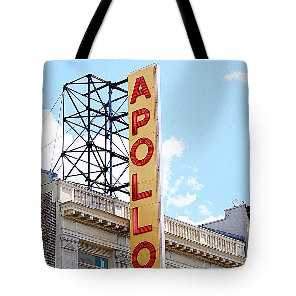 Apollo Theater Tote Bags