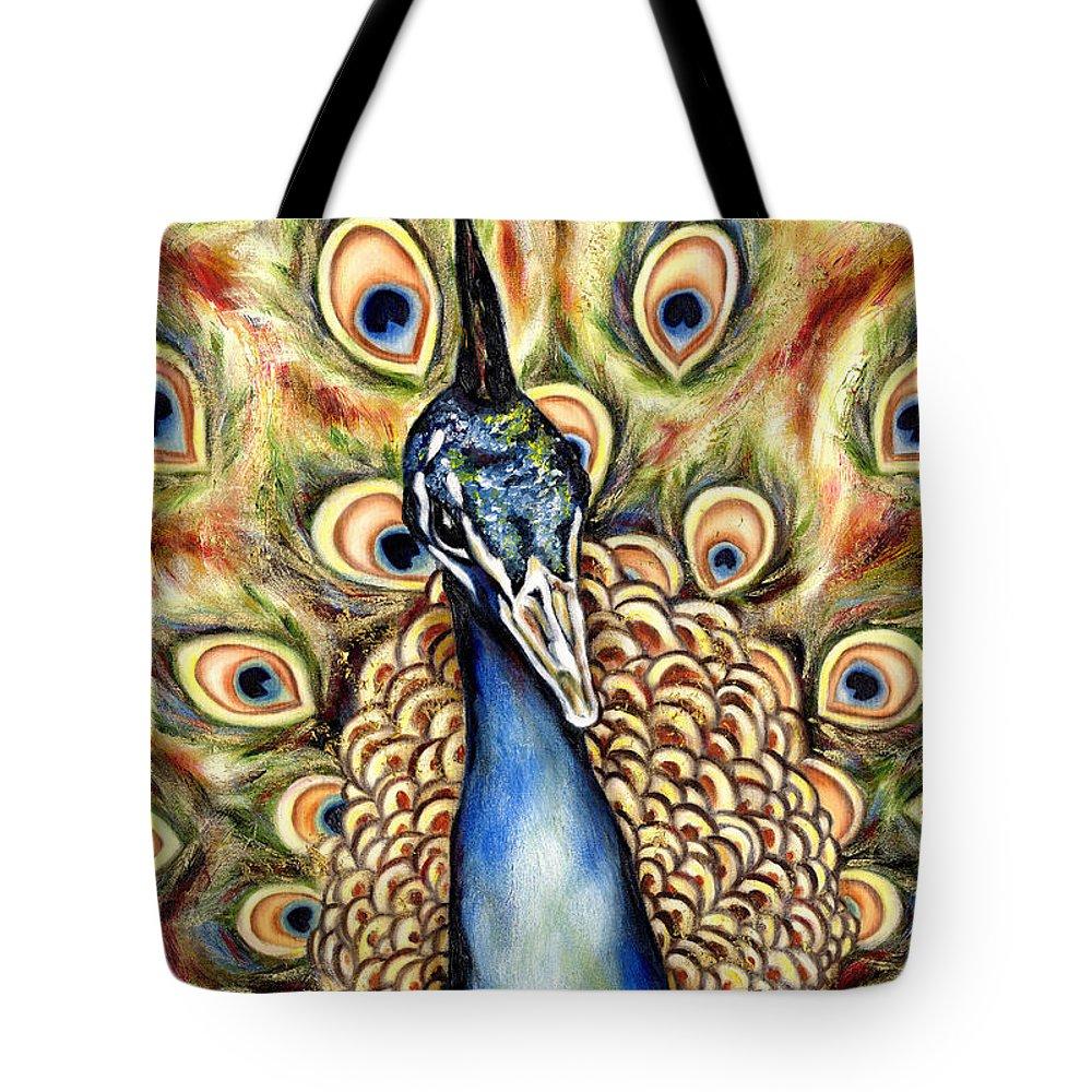 Bird Tote Bag featuring the painting Applause by Hiroko Sakai