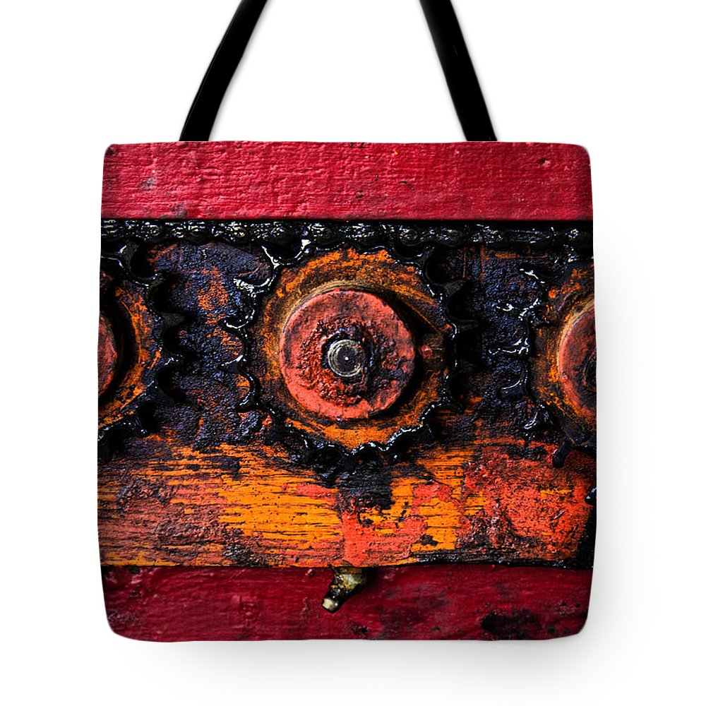 Apples Tote Bag featuring the photograph Apple Polisher by Diana Powell