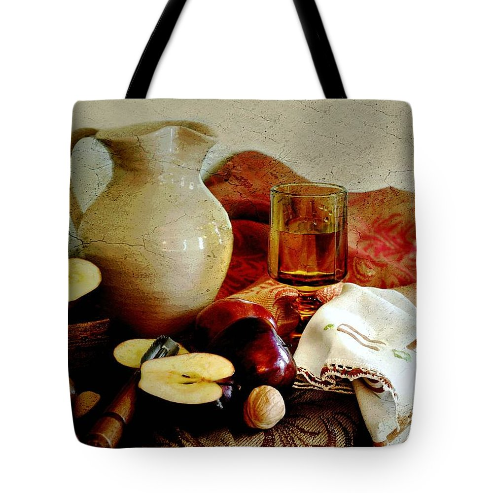 Classic Still Life Tote Bag featuring the photograph Apples Today by Diana Angstadt