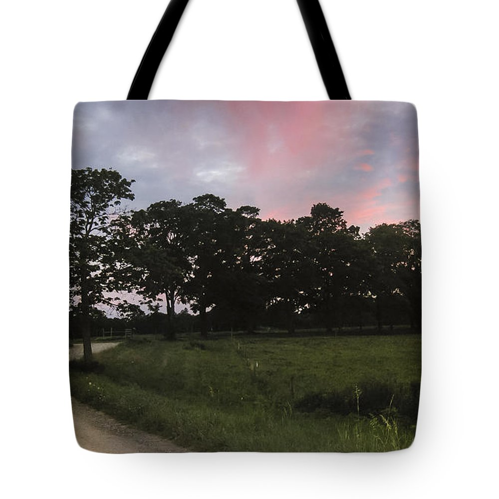 Appleton Tote Bag featuring the photograph Appleton Sunset by David Stone