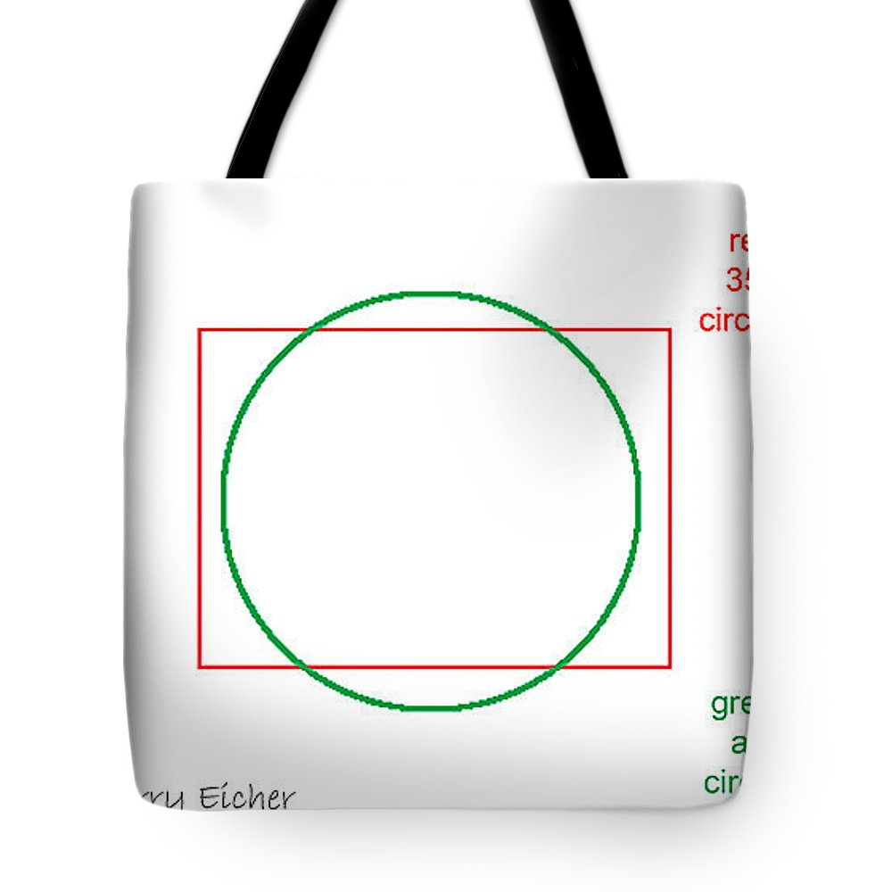 Tote Bag featuring the photograph Apsc Image Circle by Rich Franco