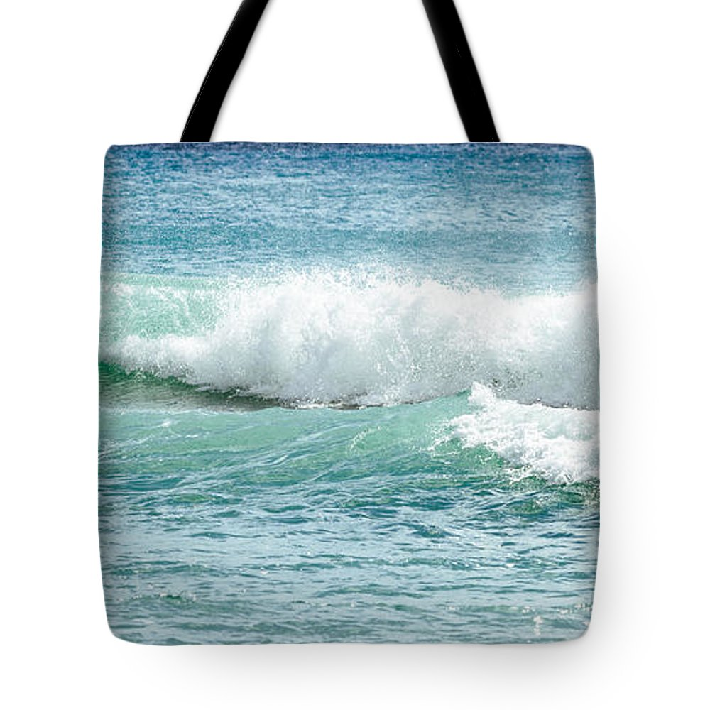 Aqua Marine Tote Bag featuring the photograph Aqua Marine by Michelle Constantine