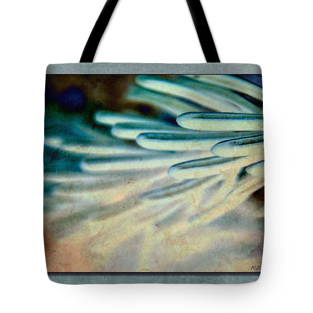 Needles Tote Bag featuring the photograph Aqua Needles by WB Johnston