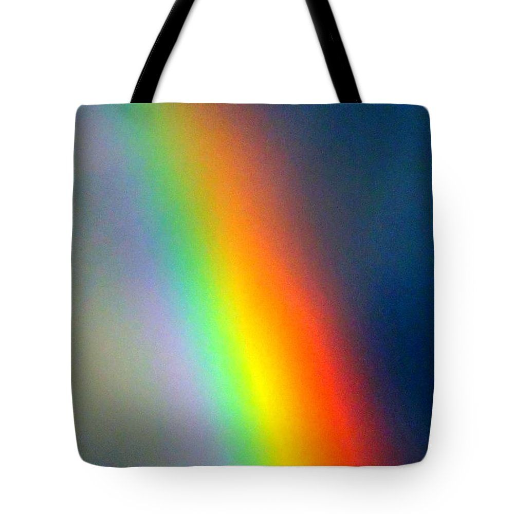 Rainbow Tote Bag featuring the photograph Arc Angle Three by Lanita Williams