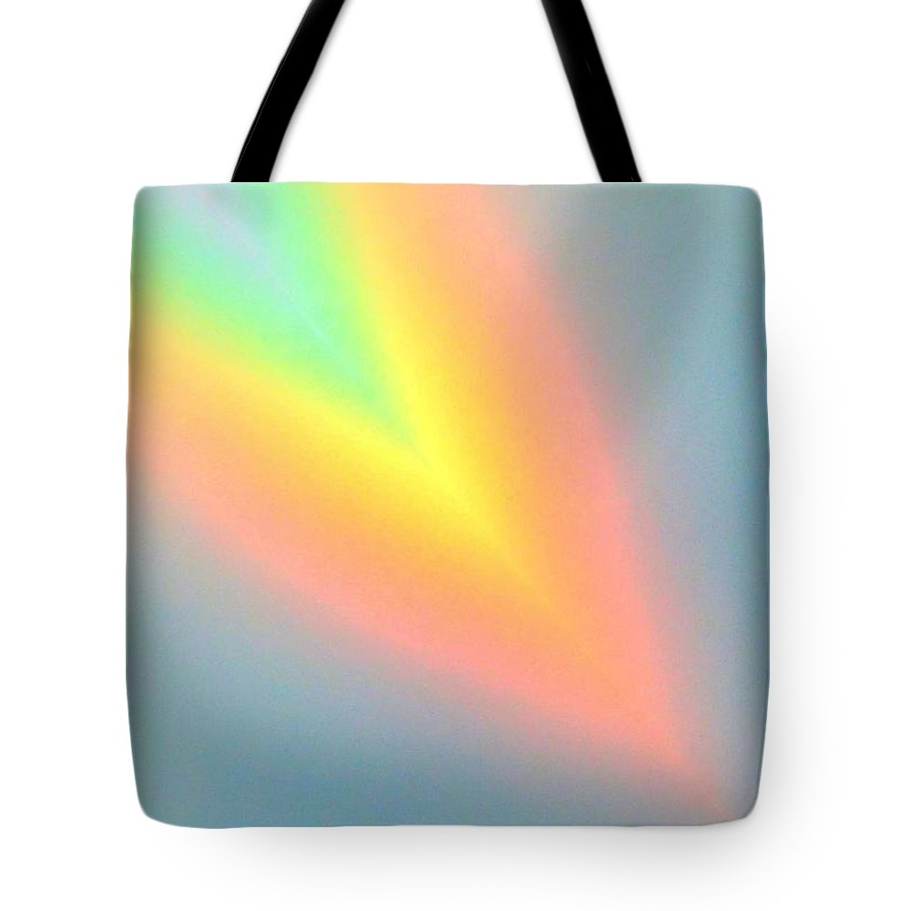 Rainbow Tote Bag featuring the photograph Arc Angle Two by Lanita Williams