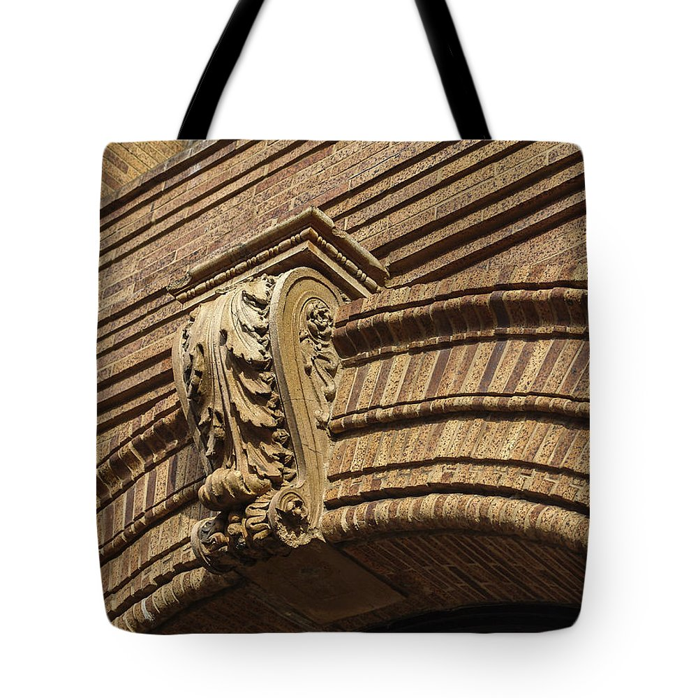 Embellishment Tote Bag featuring the photograph Arch Key by Eric Swan