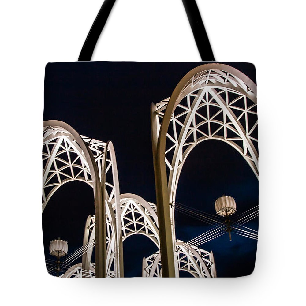 2008 Tote Bag featuring the photograph Arches And Angles 1 by Melinda Ledsome