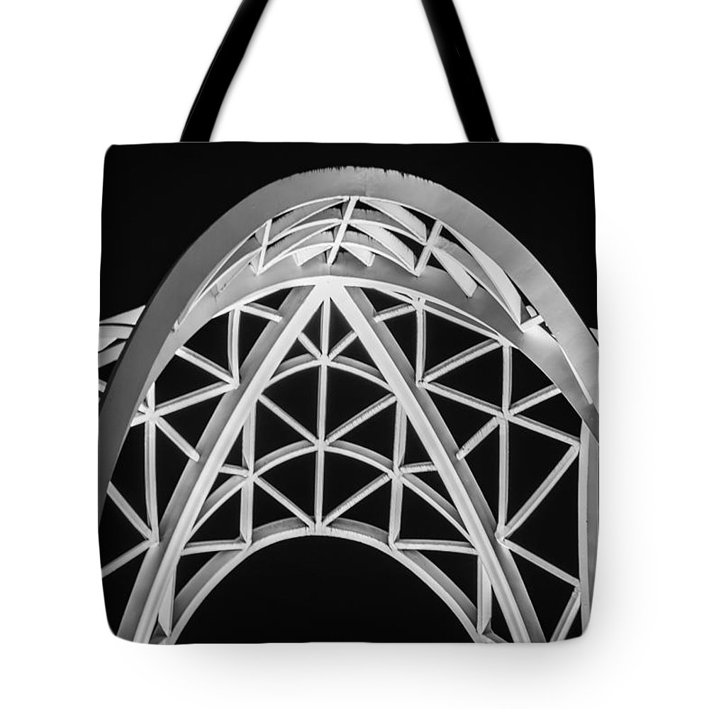 2008 Tote Bag featuring the photograph Arches And Angles 2 by Melinda Ledsome