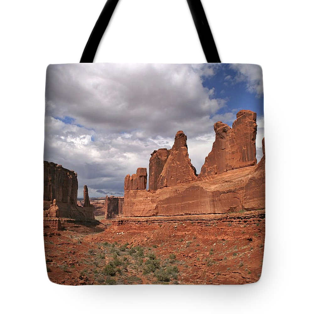 Arches Park Avenue Tote Bag featuring the photograph Arches Park Avenue by Wes and Dotty Weber