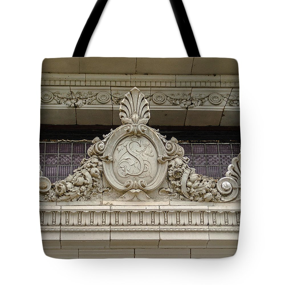Embellishment Tote Bag featuring the photograph Architectural Embellishments by Eric Swan