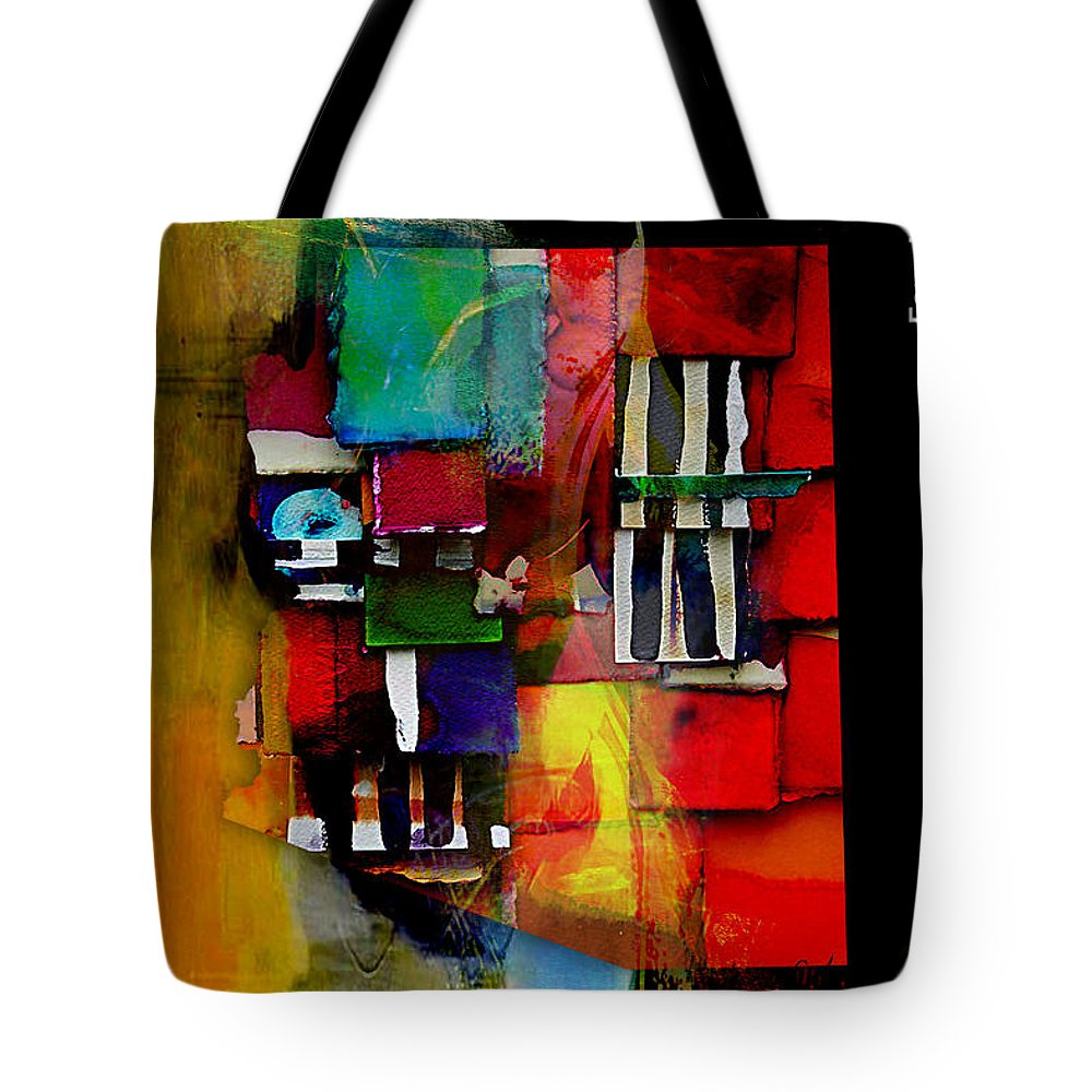 Arizona Tote Bag featuring the mixed media Arizona Map Collection by Marvin Blaine