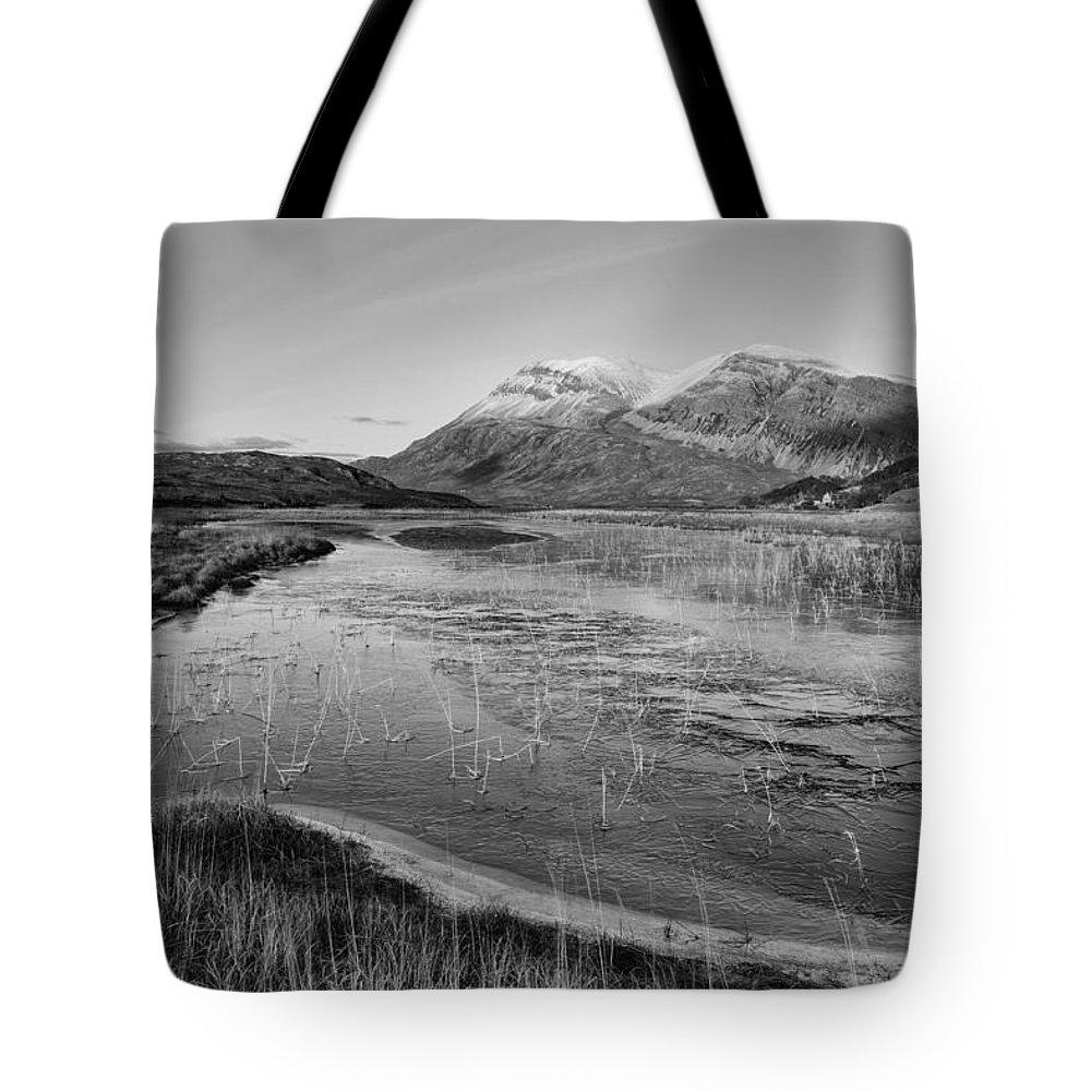Arkle Tote Bag featuring the photograph Arkle by Derek Beattie