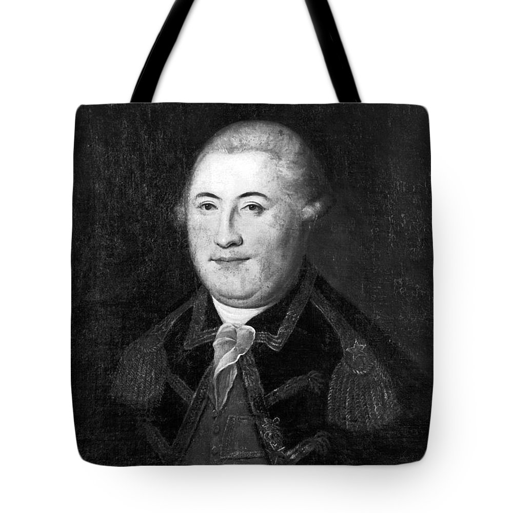 18th Century Tote Bag featuring the photograph Armand Louis De Gontaut by Granger