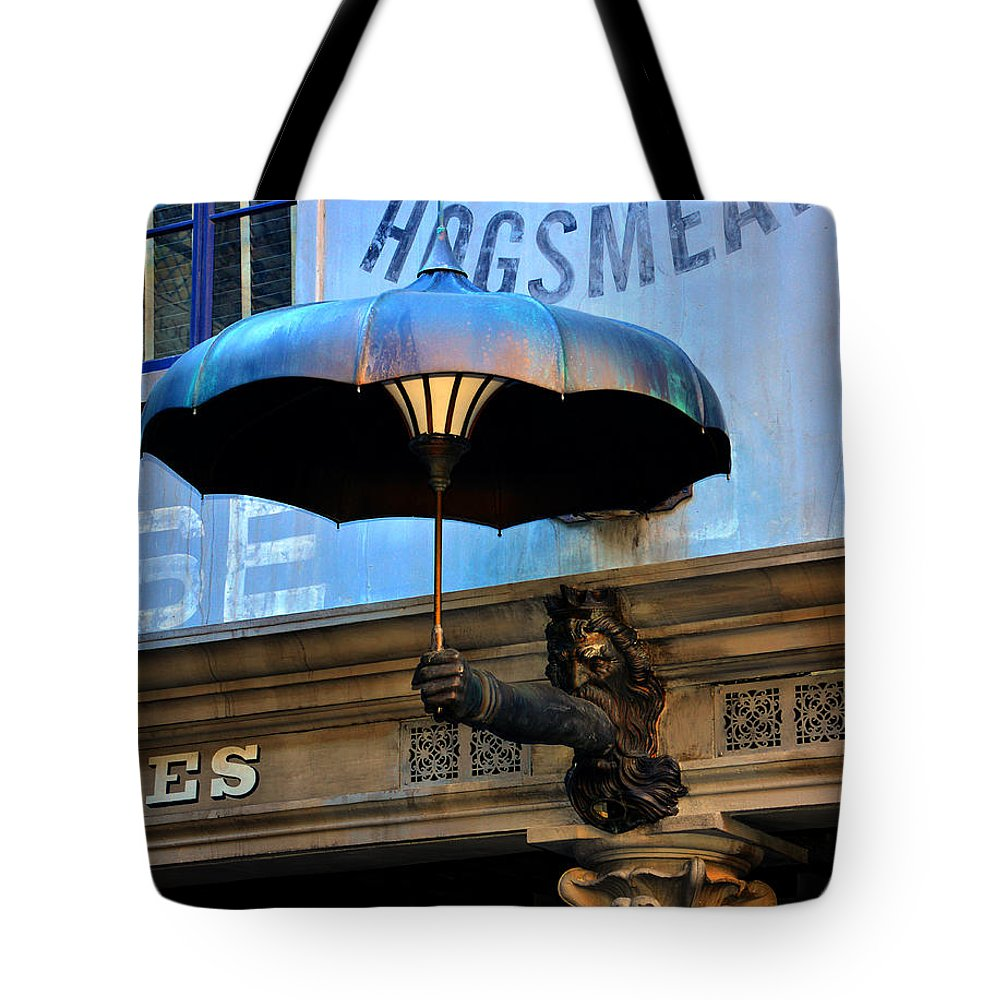 Umbrella Tote Bag featuring the photograph Armbrella by David Lee Thompson
