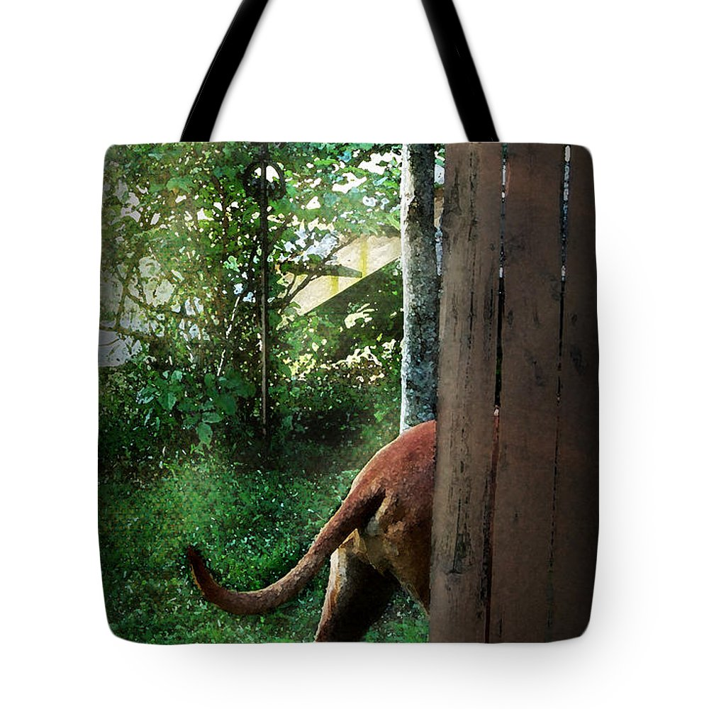 Eli Tote Bag featuring the photograph Around The Bend by Mim White