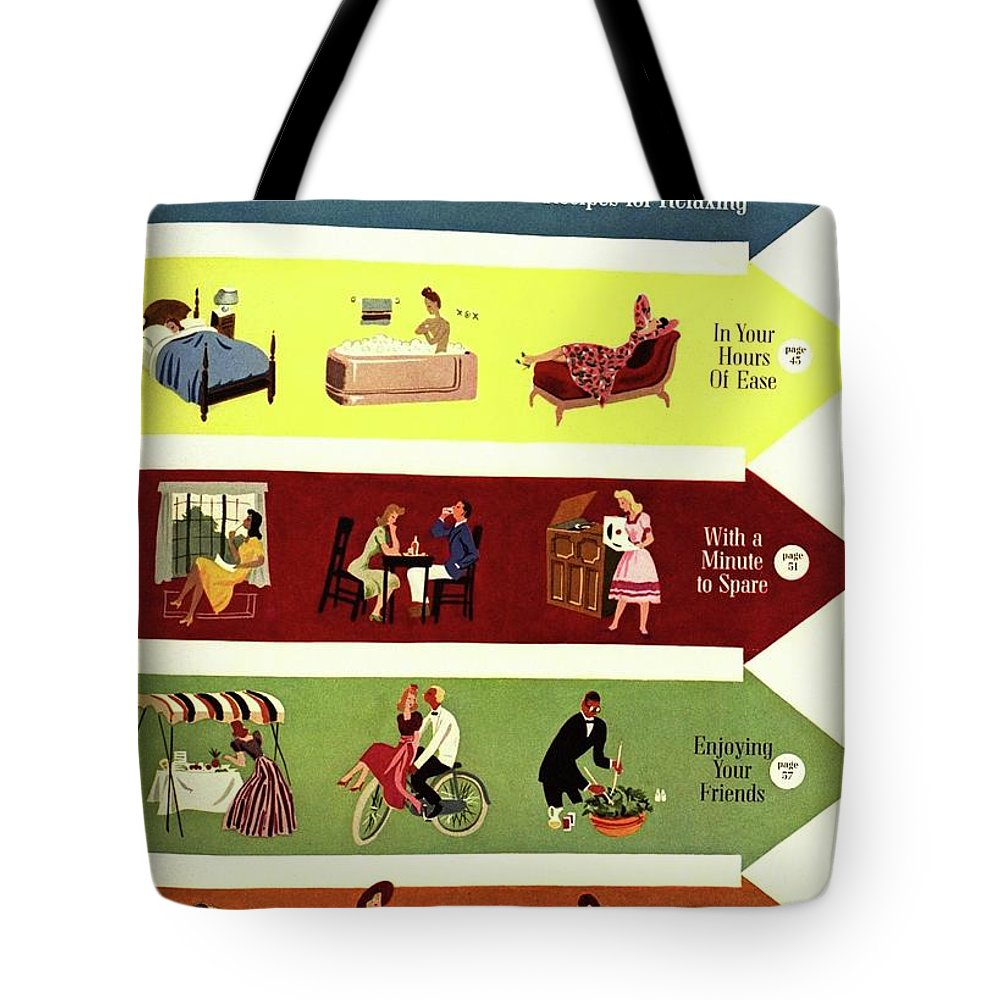 Illustration Tote Bag featuring the photograph Arrows And Illustrations by William Bolin