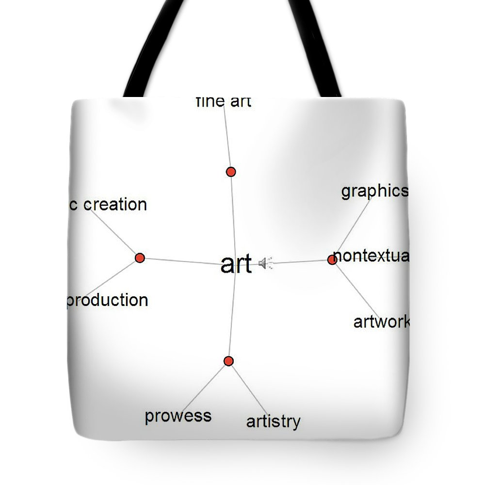 Art Tote Bag featuring the painting Art by Bruce Nutting
