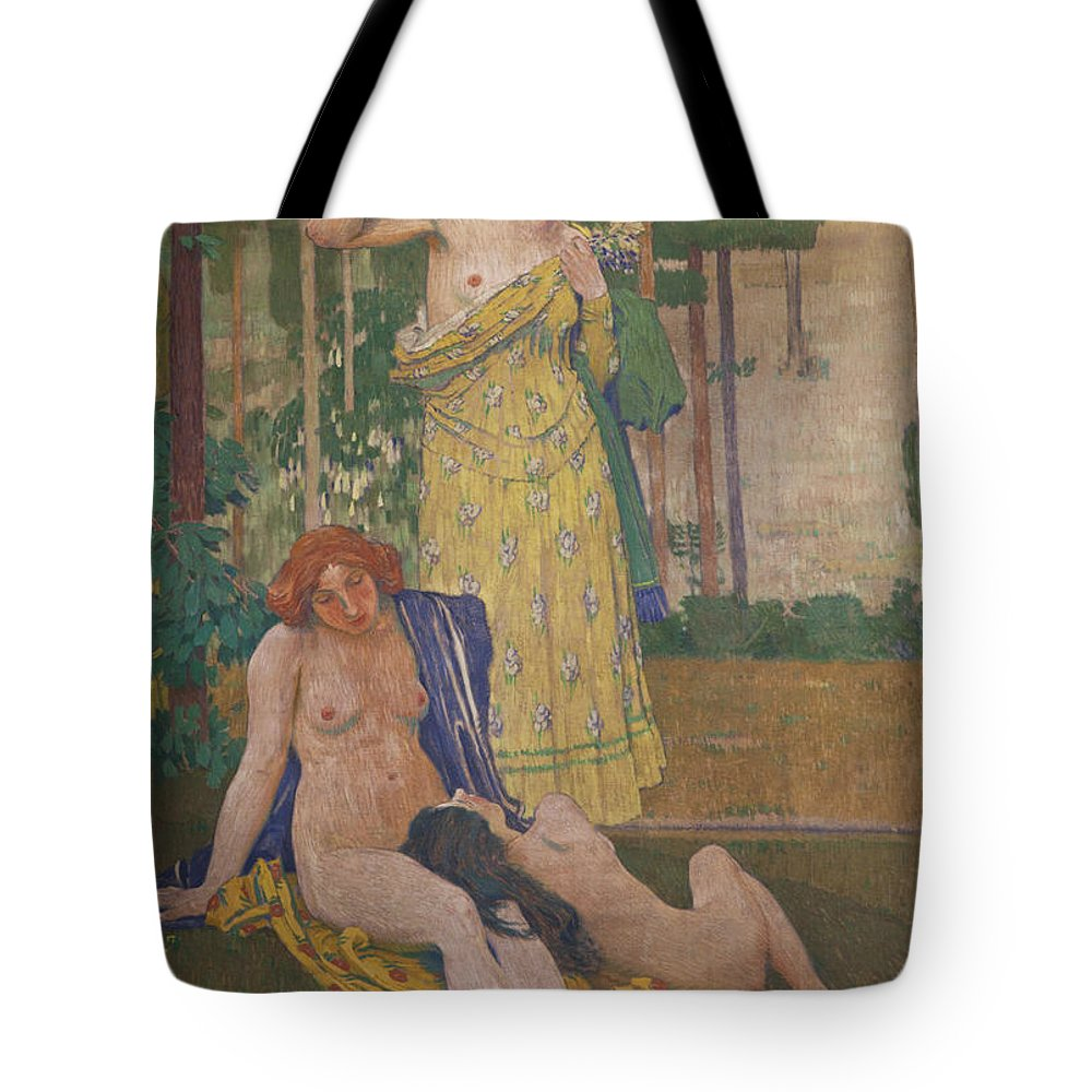 Thomas Tote Bag featuring the photograph Art Nouveau Painting In The Mayors by Mark Thomas