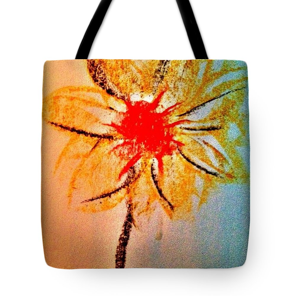 Flower Tote Bag featuring the photograph Art Therapy 135 by Michele Monk