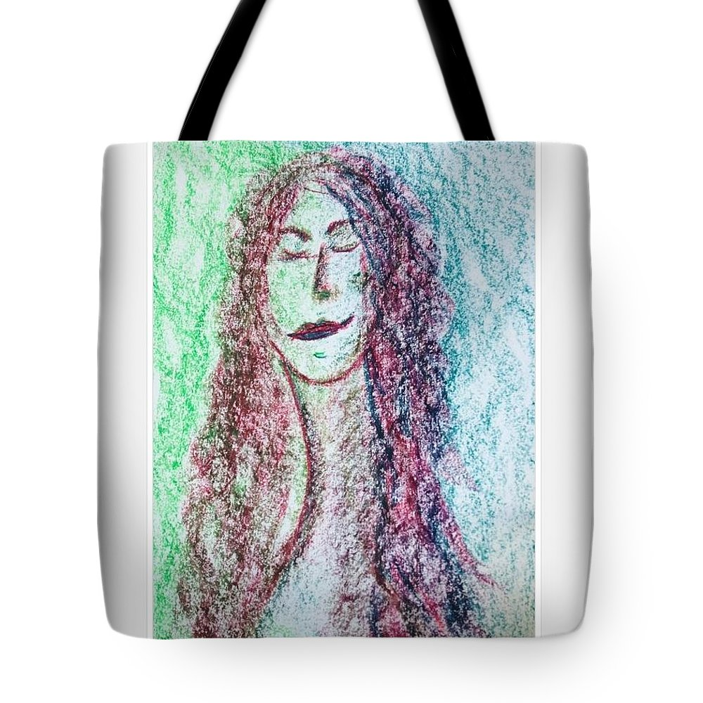 Self Pertrait Tote Bag featuring the photograph Art Therapy 136 by Michele Monk