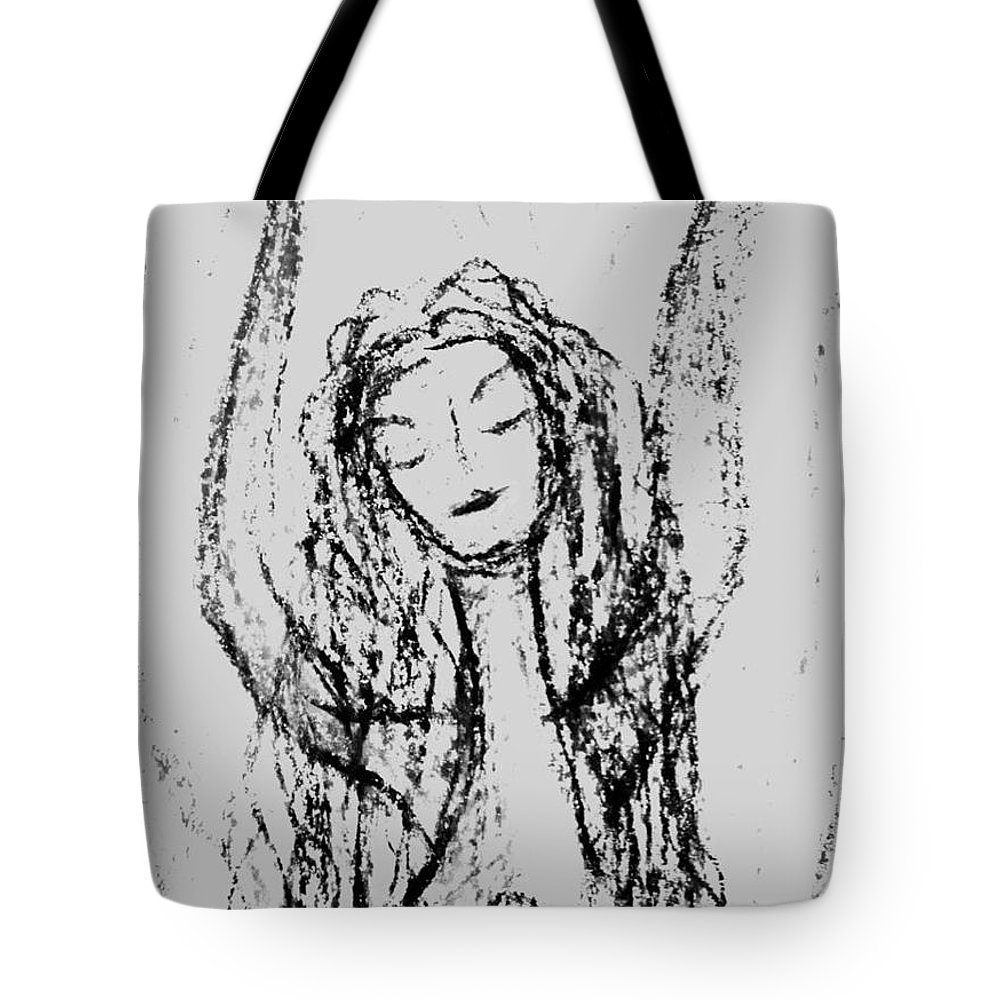 Woman Tote Bag featuring the photograph Art Therapy 165 by Michele Monk