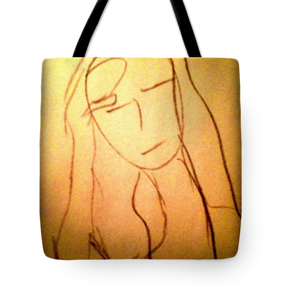 Sketch Tote Bag featuring the photograph Art Therapy 197 by Michele Monk