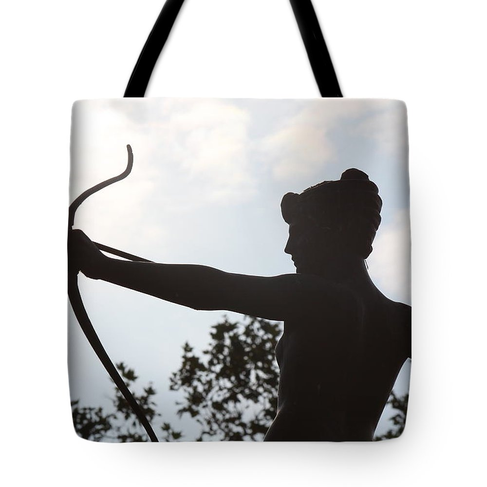 British Tote Bag featuring the photograph Artemis by Nicholas Miller