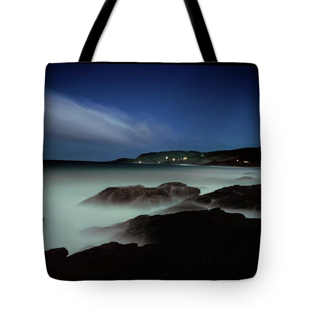 Australia Tote Bag featuring the photograph Artillery Rocks Looking Back To Kennet by Simon O'Dwyer