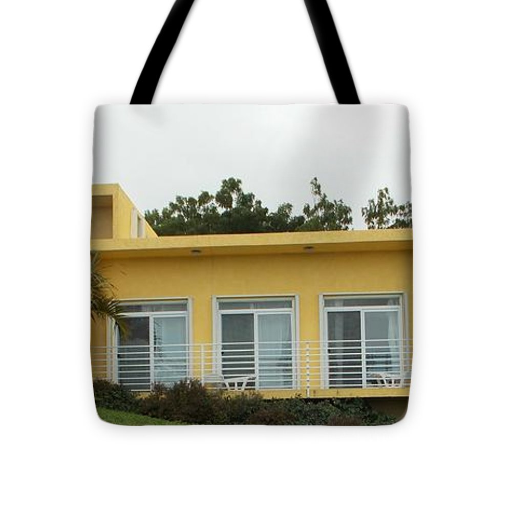 Artist Tote Bag featuring the photograph Artist Mod Retreat For Sale by Artist Ai