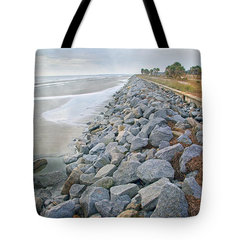 Jekyll Tote Bag featuring the photograph Artistic Division by Betsy Knapp