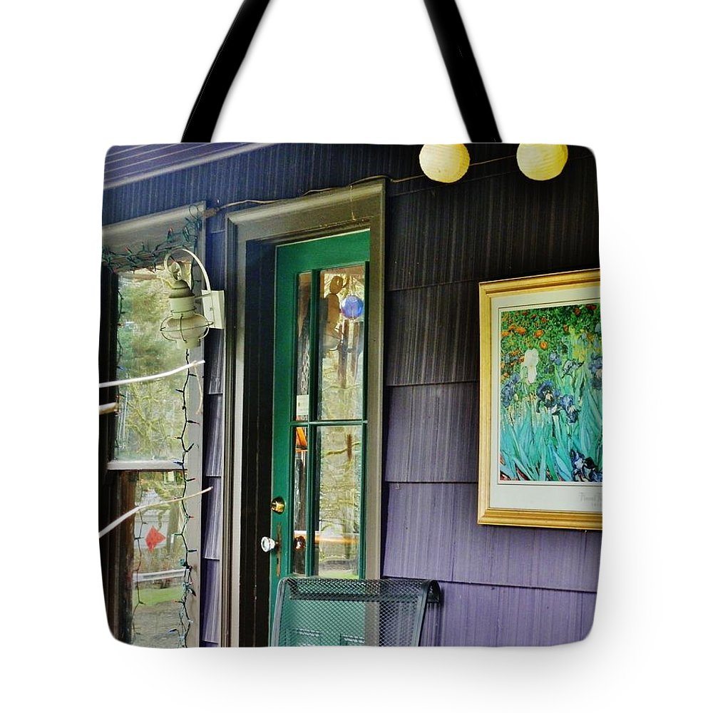 House Tote Bag featuring the photograph Artistic Front by VLee Watson