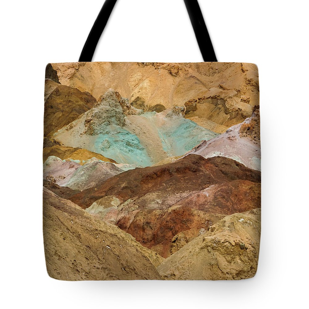 Park Tote Bag featuring the photograph Artist's Paint Palette Abstract by Heidi Smith