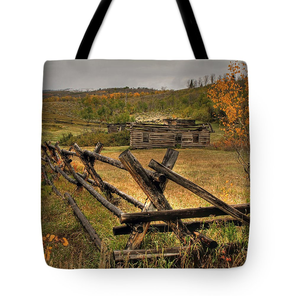 Teton National Park Tote Bag featuring the photograph As Time Goes By by Donna Kennedy