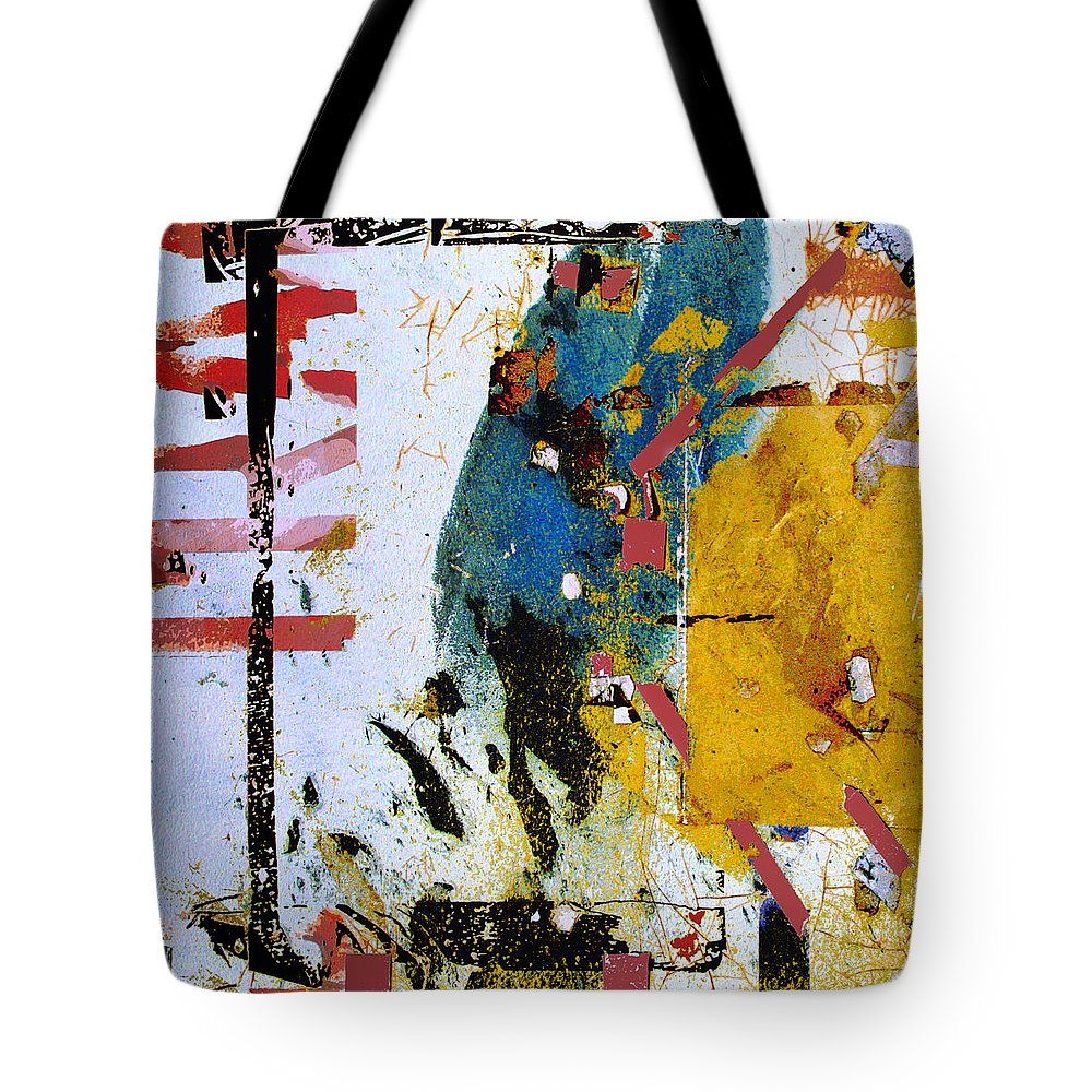 Ascent Tote Bag featuring the mixed media Ascent by Dominic Piperata
